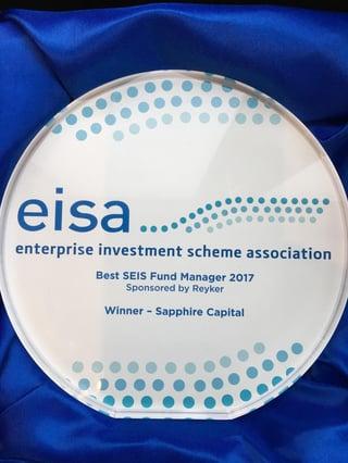 EISA Awards 2017 Sapphire Best SEIS Fund Manager